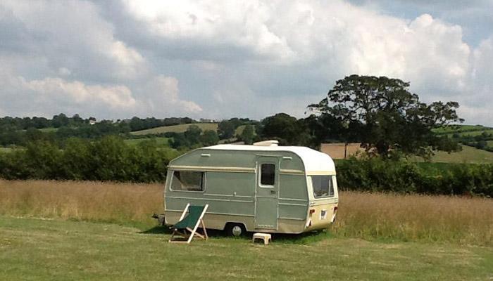 Chaffinch Glamping Caravan