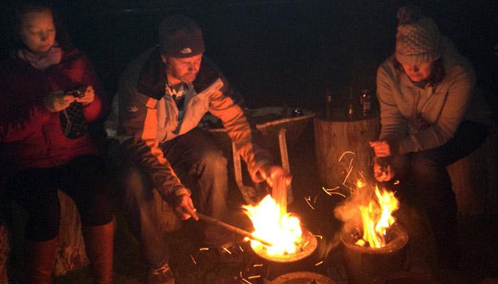 Campfire Cooking - Old Bidlake Farm Camping Bridport