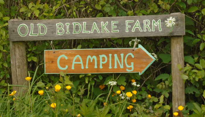 Find Us Old Bidlake Farm Bell Tent Camping Near Bridport Dorset