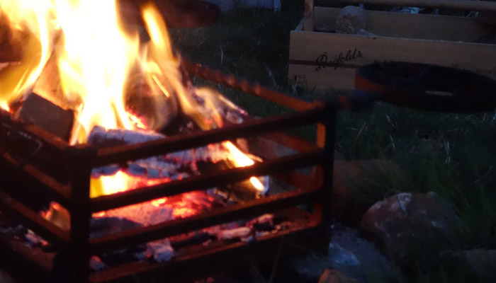 Old Bidlake Farm Exclusive Hire Campsite Dorset Campfire