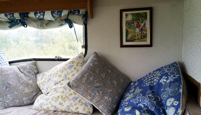 The Caravans Old Bidlake Farm Bell Tent Camping Dorset