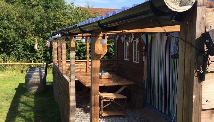 The Barn Old Bidlake Farm Bell Tent Camping Dorset