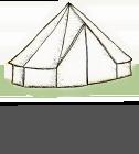 Old Bidlake Farm Bell Tent Camping - Pilsdon Bell Tent