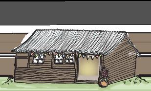 Old Bidlake Farm Bell Tent Camping - The Barn