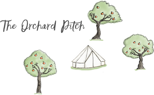 Old Bidlake Farm Bell Tent Camping - The Orchard Pitch