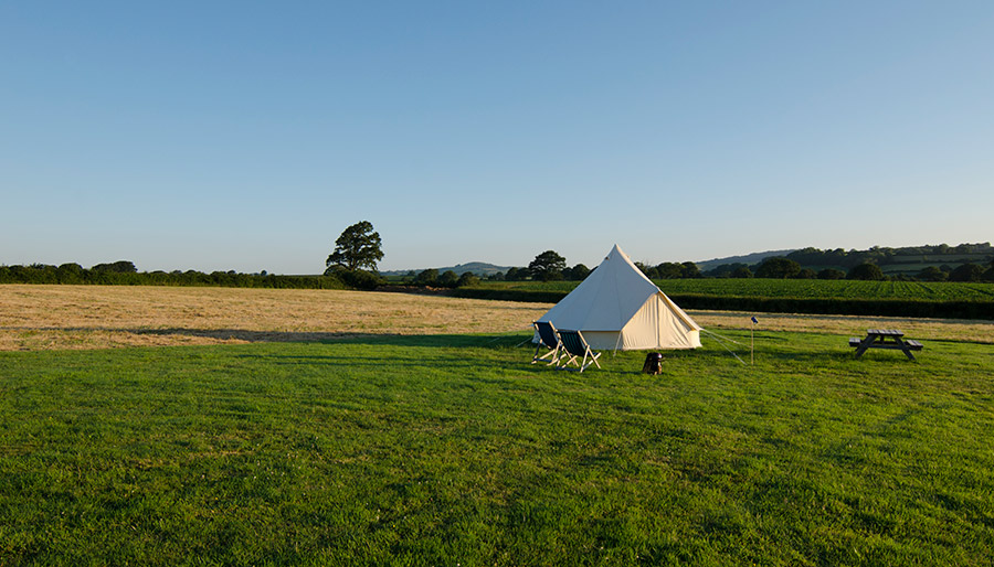 Peace and Quiet in your Bell Tent